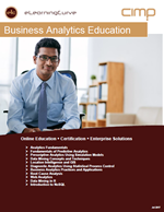 Certifiy in Advanced Analytics with new ElearningCurve Business Analytics Curriculum