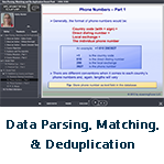 Data Parsing, Matching & De-