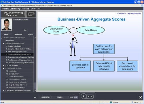 Data Quality Assessment - online training course