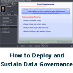 How to Deploy and Sustain Data 