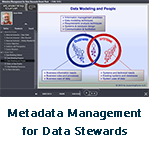 Metadata Management for Data Stewards