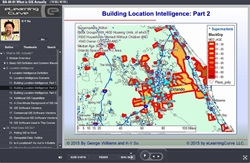 Location Intelligence and Geographic Information Systems - online training course